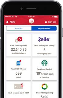 app bank of america mobile and banking features from bank of america