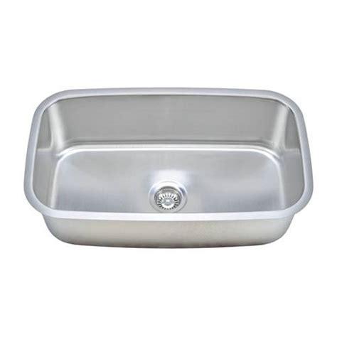 Kitchen Sink Package Sinkware 18 Single Bowl Undermount Stainless Steel Kitchen Sink Package Cmu3118 10 1
