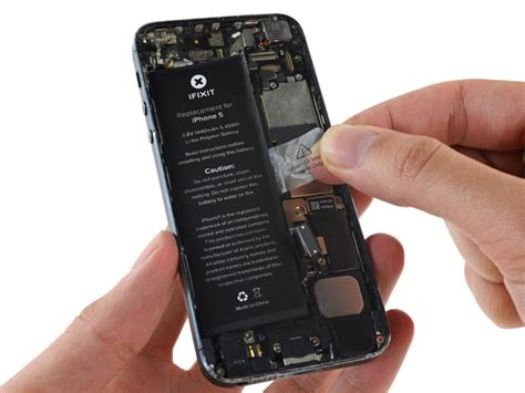 Dryer Iphone Battery by How To Replace Your Iphone 5 Battery Ifixit Repair Guide