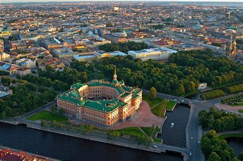 Garden Building Plans by Mikhailovskiy Castle In St Petersburg Russia