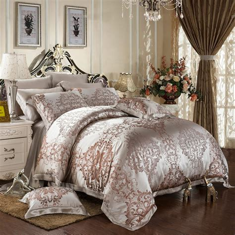 luxury comforter set 8 piece luxury silk bedding sets