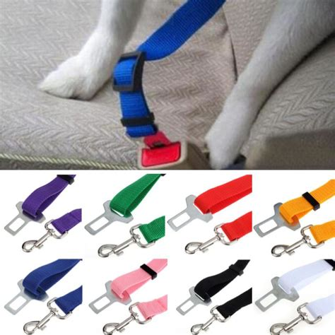 Pet Harness Belt For Car adjustable cat car safety seat belt collars accessories