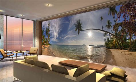 wall mural koh mak in thailand wall mural 24 wide by 8 high ebay