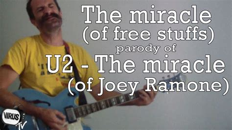 The Miracle Of Free The Miracle Of Free Stuffs Of U2 The Miracle Of Joey Ramone