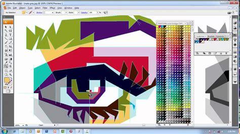 Tutorial Wpap Adobe Illustrator Cs3 | tutorial membuat mata dalam wpap dengan mudah tutorial