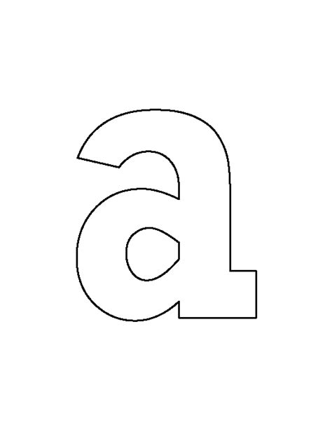letter n pattern use the printable outline for crafts lowercase letter b pattern use lowercase letter t