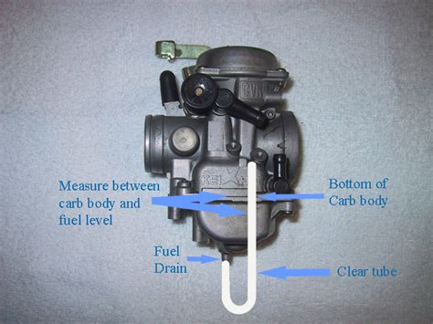 how do you adjust the carburetor on a weed eater carburetor float level adjustment