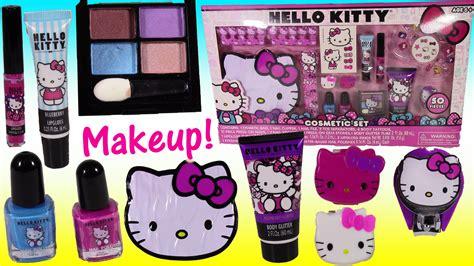 Hello Set Make Up hello cosmetic set nail lip gloss nail