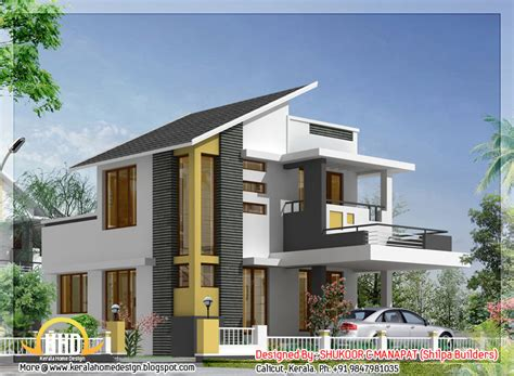 stylish low cost 1800 sq ft 4 bhk contemporary house design 1062 sq ft 3 bedroom low budget house kerala home design and floor plans