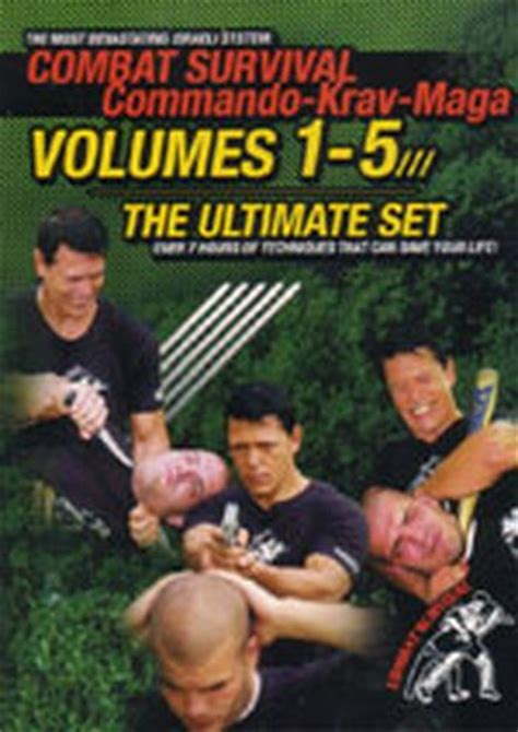 krav maga the of tactical survival tried and tested solutions to realistic scenarios books commando krav maga 5 dvd ultimate set by moni aizik