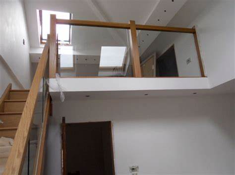 Staircase Banisters Contemporary Oak Townsend Staircase Glass Balustrade