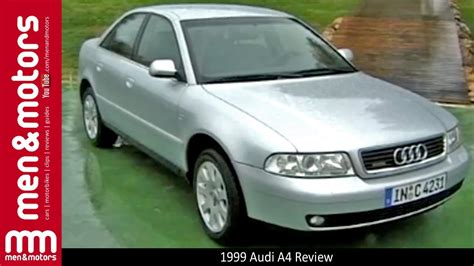 1999 audi a4 reviews 1999 audi a4 review with richard hammond