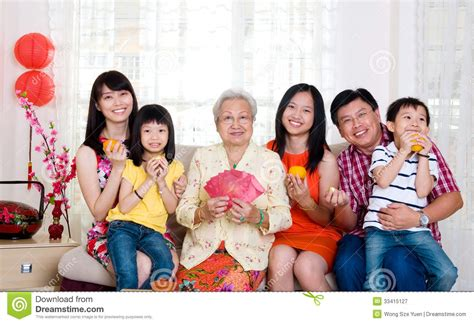 family for new years new year stock image image of