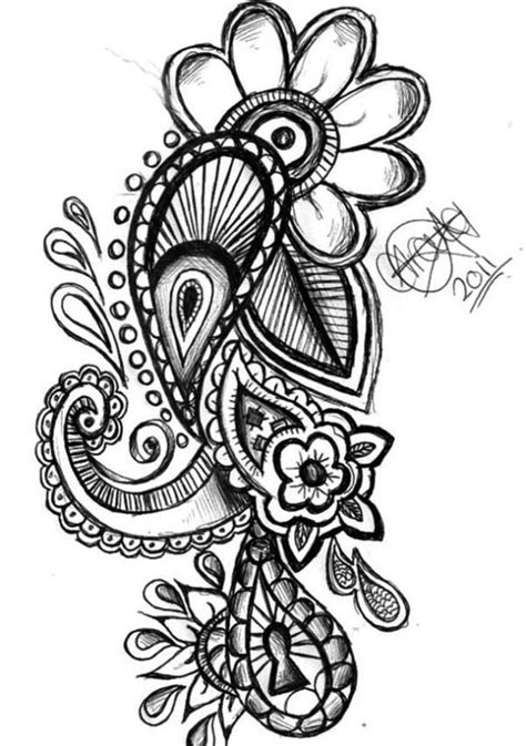 paisley heart tattoo designs 50 paisley pattern tattoos designs