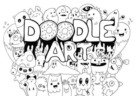 Tutorial Cara Membuat Doodle Bagi Pemula