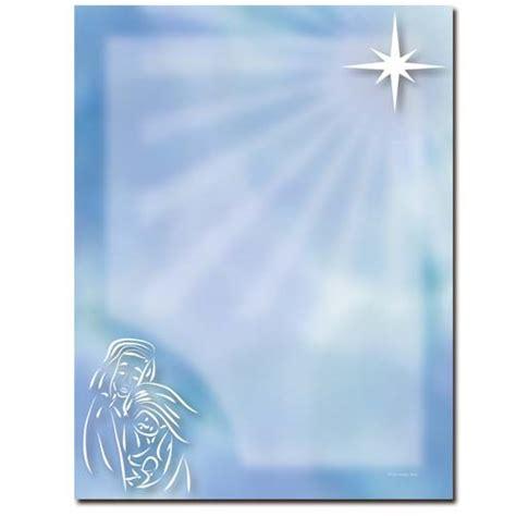 baby jesus letterhead religious christmas stationery