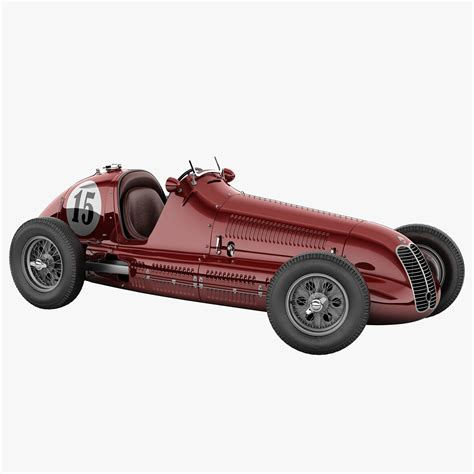 old maserati race car maserati 4cl vintage racing car 3d max