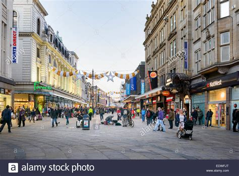 newcastle northumberland street christmas northumberland newcastle upon tyne stock photo 77393088 alamy