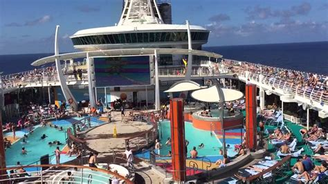 the seas decks on the top decks 2 of royal caribbean cruise independence