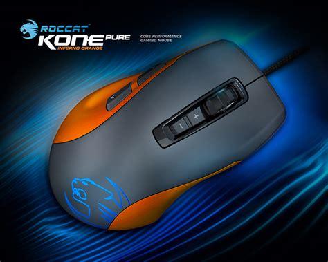 Roccat Kone Color Blue White Orange roccat kone colour edition gaming mouse orange