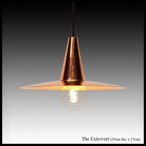 The Extrovert Copper Pendant L Shade Africa Impulse Copper Pendant Light Shades