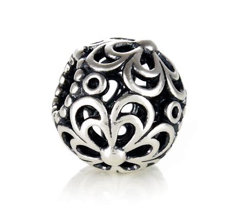 pandora silver flower power charm 790965 order code bc0197