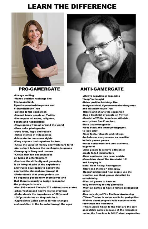 Mythbusters pro vs anti gamergate gamergate know your meme