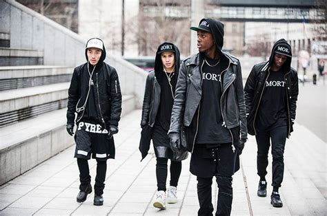 style trend black people all black everything style fashionboxx