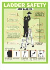 Stair Safety Poster by Extension Ladder Safety Tips Safety Posters Australia