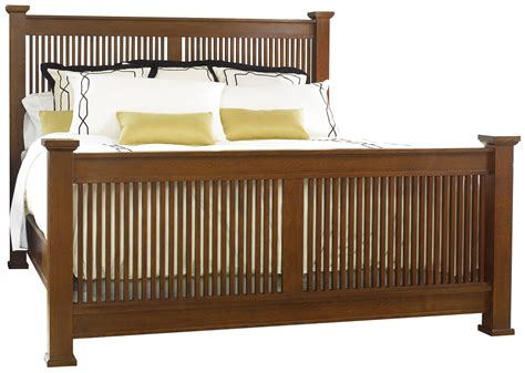 stickley beds stickley san francisco prairie bed queen