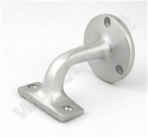 Banister Rail Brackets by Wyre Direct Satin Aluminium Banister Brackets Handrail Bracket Stair Rail Co Uk Diy Tools