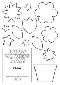 mothers day card template early play templates s day card templates