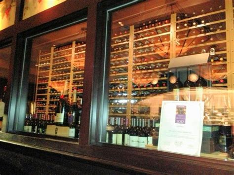 the wine room of cherry hill front entrance picture of capital grille cherry hill cherry hill tripadvisor