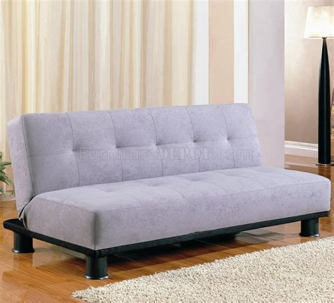 modern convertible sofa bed modern microfiber convertible sofa bed 300164 grey