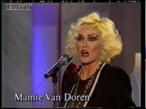 Meme Van Doren - mamie van doren 1992 interview and rock medley mamie