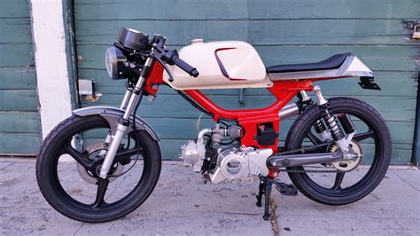 Cafe Racer Seat Upholstery Cafe Racer Tomahawk Mopeds