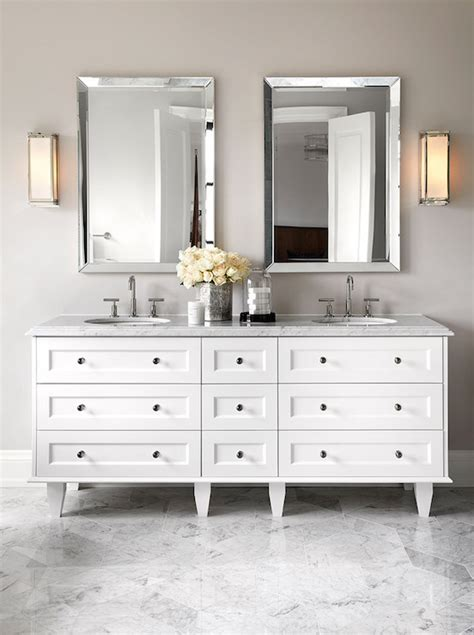 Beveled Bathroom Vanity Mirror Beveled Vanity Mirror Contemporary Bathroom The Design Company