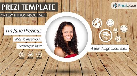 Powerpoint Self Introduction Template Self Presentation Template Free Prezi Templates Prezibase Personal Introduction Powerpoint Template