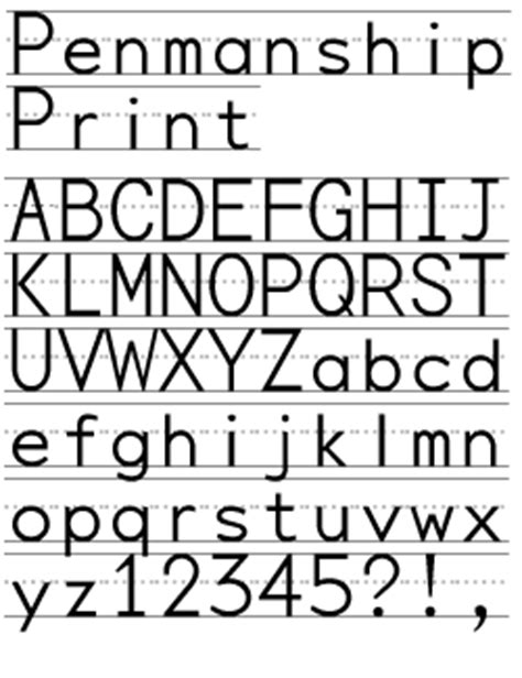 print lined font free handwriting fonts for teachers words fonts and the