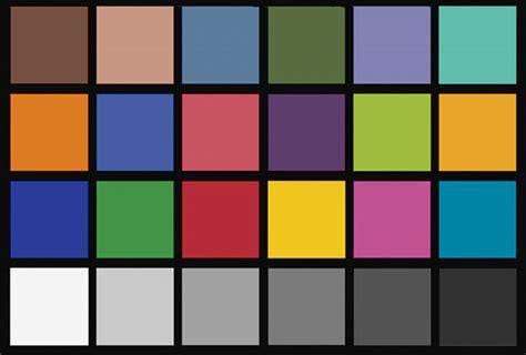 color checker chart 宝颜记图片baoyanji