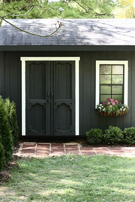 25 best ideas about shed paint colours on cottage garden sheds painted shed and