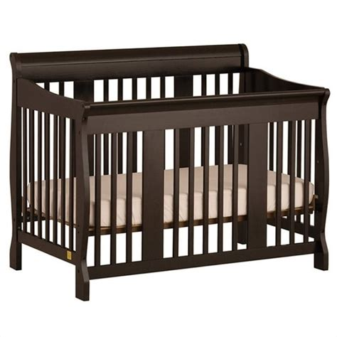 Black Baby Cribs 4 In 1 Stages Baby Crib In Black 04588 49b