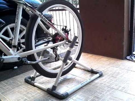 membuat jemuran dari pipa pvc diy paddock sepeda mtb dari pipa pvc youtube