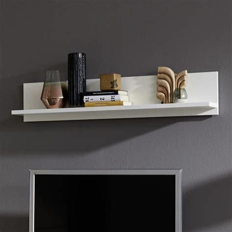 wall mounted display shelves prague wall mounted display shelf in white