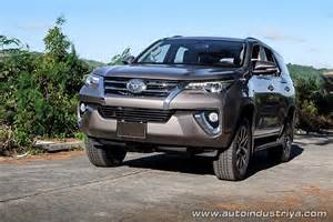 Toyota Fortuner Competitors 2016 Toyota Fortuner 2 8v 4x4 Car Reviews