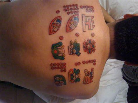 Aztec Calendar Symbols Birthdays And Symbols