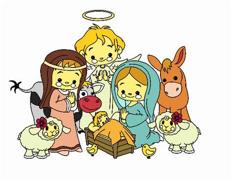 imagenes infantiles nacimiento de jesus dibujo de es el nacimiento del ni 209 o jesus pintado por en
