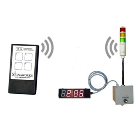 home light timer system home wireless andon