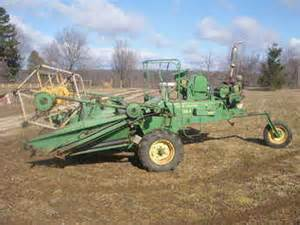 used farm tractors for sale john deere swather 2012 09