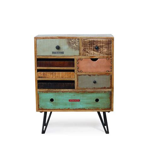Commode Design by Commode Vintage 224 Tiroirs En Bois Fusion By Drawer